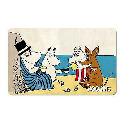 Moomins Tea On Beach Breakfast Cutting Board Formica Mat Moomintroll Kangaroo