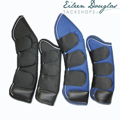 TRAVEL  BOOTS 2 Colours - 3 Sizes - Pony Cob Full Horse Shipping Boot