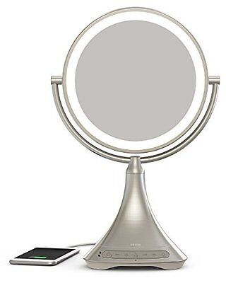 "iHome 9"" Double-sided Vanity Mirror"