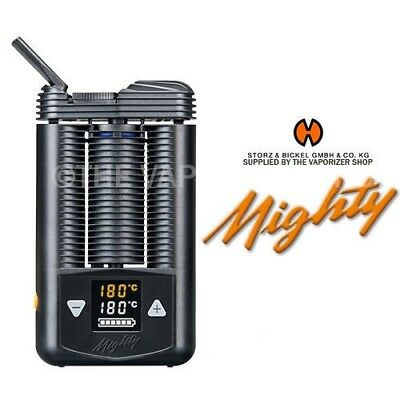 NEW Mighty Portable Handheld Vaporizer by Storz & Bickel with Car Adapter