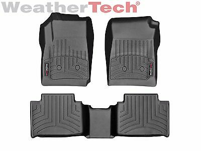 WeatherTech FloorLiner for GMC Canyon Crew Cab - 2015-2016 - Black