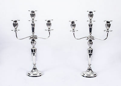 Antique Pair Neo-Classical Revival Candelabra c.1910
