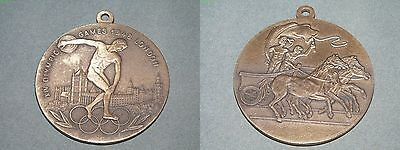 Olympiade London 1948 Medaille/Anhänger - Relief - 97g - 70mm - Top Motiv