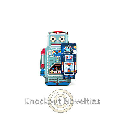 Robot Lunch Box Fun Funny Food Carrying Novelty Gift Item