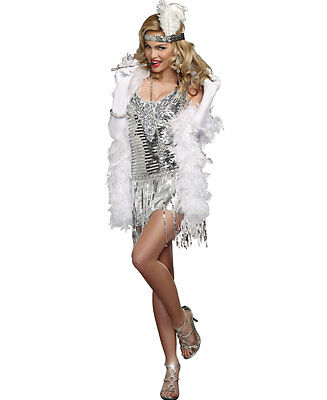 New Dreamgirl 9458 Lifes A Party Flapper Adult Costume