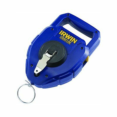 Irwin 2031311 Strait-Line Large-Capacity Chalk Reel, 150 Feet ~ Free Shipping