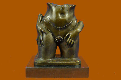 Collector Edition Abstract Nude Female Bronze Sculpture Handmade Figure Hot Cast