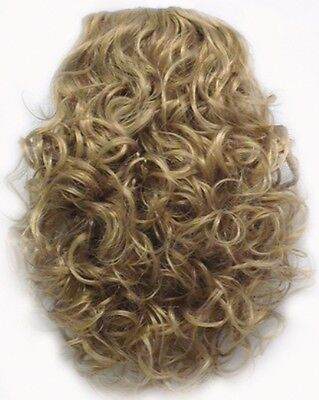 """12"""" Loose Spiral Curls Curly Fall Hair Extensions W/Combs Hairpiece Roxy 1733"""