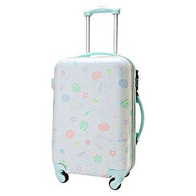 New SANRIO Cinnamoroll Carry case (Shell) Suitcase ?From JAPAN