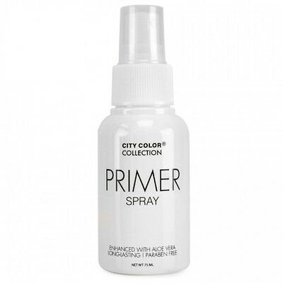 CITY COLOR Face Make Up Setting Primer Spray Enhanced With Aloe Vera