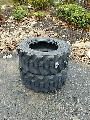 2 New 23X8.5-12 Skid Steer/Tractor Tires-23X8.50-12 - 8 ply -for Bobcat & others