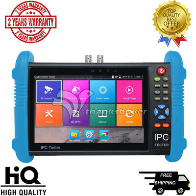 "IPC9800 7"" HD Touch Screen Monitor ONVIF IP Camera Wifi HDMI PTZ POE CCTV Tester"