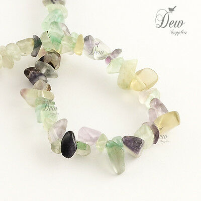 natural fluorite stone beads jewellery findings 1 strand around 320 pieces