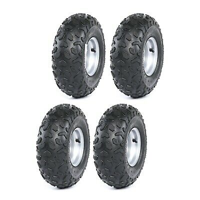"4 x 145/70- 6"" inch Tire/Tyre Rim 70/110cc ATV Quad Bike Buggy Go Kart Mower"
