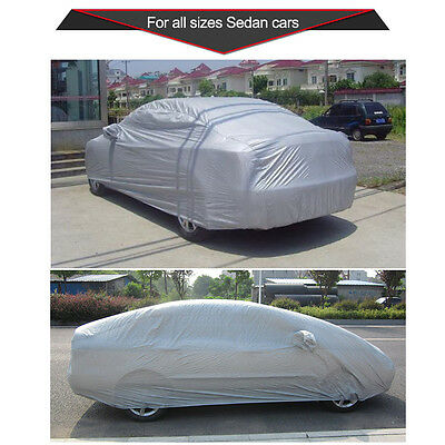Auto Car Cover S M L XL XXL Sedan Outdoor Sun UV Rain Dust Snow Resistant