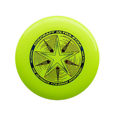 Discraft Ultra Star 175G Ultimate Flying Disc Frisbee - Yellow