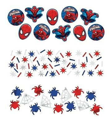 Ultimate Spider-Man | Webs | Stars Party Table Confetti | Decoration 1-5pk