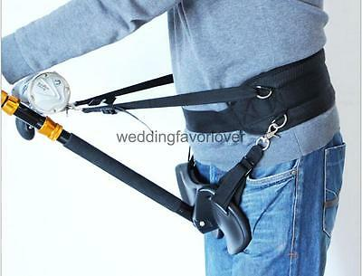 Practical Wide Offshore Tackle Fishing Stand Up Fighting Harness Belt Band