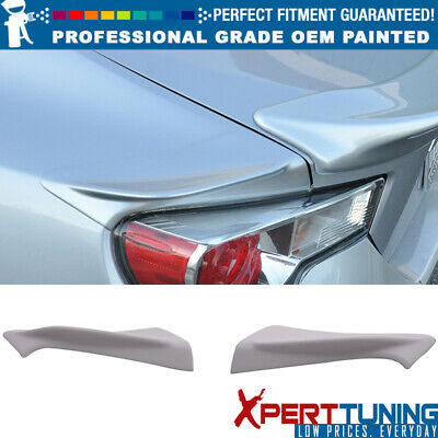 Fits 13-17 FR-S BRZ TR-D Style Painted ABS Trunk Spoiler - All OEM Color Match