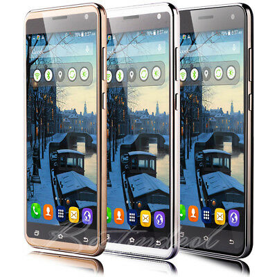 """LUXURY 5.5"""" Touch Android Mobile Smart phone 2Sim Quad Core WiFi 3G GPS Unlocked"""