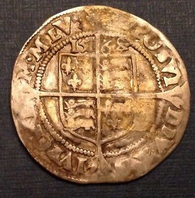 Great Britain England 1568 Sixpence Queen Elizabeth I