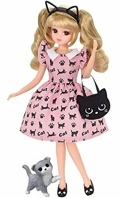 New Licca chan Doll Kitty Cat Dress Clothes outfit ONLY Japan Import Takara Tomy