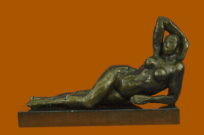 **DEAL*DEAL** Bronze Sculpture Statue Hot Cast Abstract Nude Female Tribute Moo
