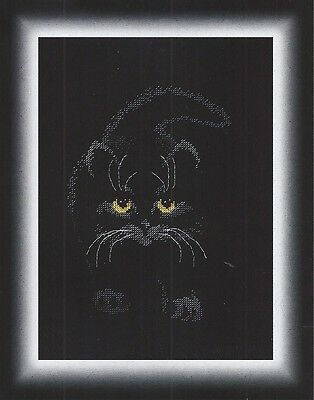 Cross Stitch Kit Black cat M-142