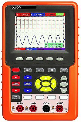 Owon HDS3102M-N 2CH 1GS/s 100MHz Handheld Digital Storage Oscilloscope +Suitcase