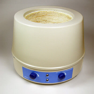 NC-13297, Analog Heating Mantle with Stirrer, 2L