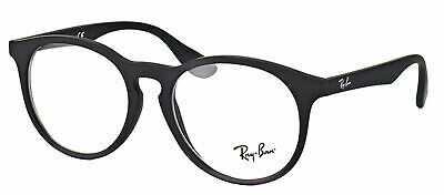 Authentic Ray-Ban RY 1554 3616 Rubber Black Childrens Eyeglasses 48mm