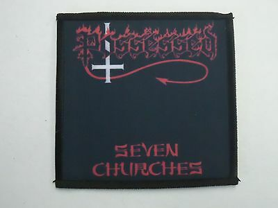 Possessed Seven Churches Sublimated Patch