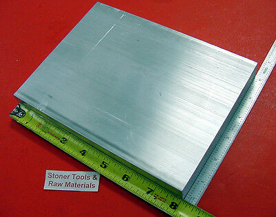 "4 Pieces 1"" X 6"" ALUMINUM 6061 T6511 SOLID FLAT BAR 8"" long New Plate Mill Stock"