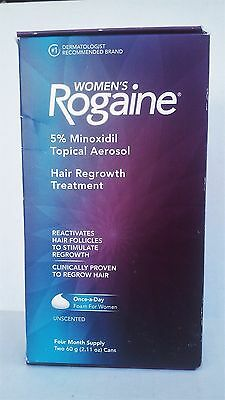 Women's Rogaine Unscented Hair Regrowth Treatment Foam (4-Month) EXP 5/18