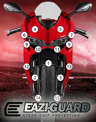 Eazi-Guard Stone Chip Paint Protection Film for Ducati Panigale 959 1299