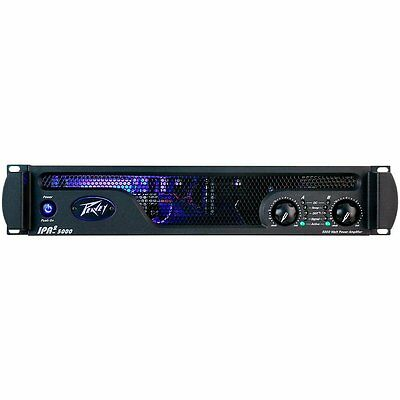 Peavey IPR2 5000 Power Amplifier 2-channel Power Amplifier, 1510W RMS/ch at 4ohm
