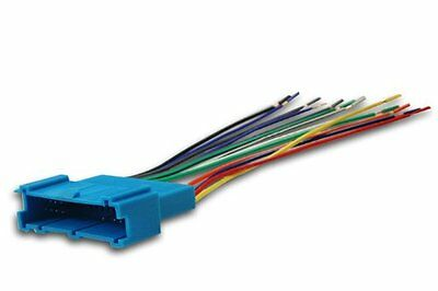 Absolute A346-2001 Radio Wiring Harness for GM 94-04