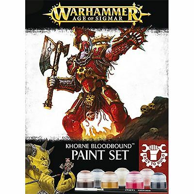 Khorne Bloodbound - Paint Set Games Workshop Warhammer Age of Sigmar