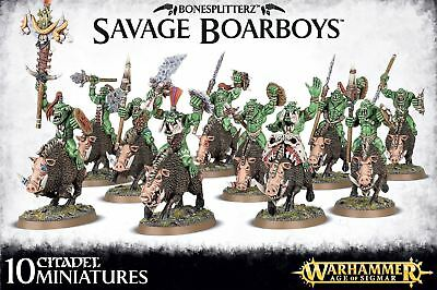 Bonesplitterz - Savage Boarboys Games Workshop Warhammer Age of Sigmar