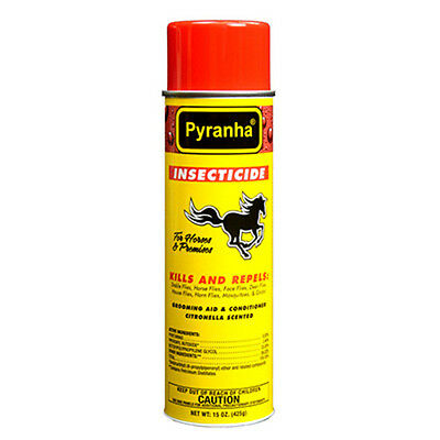 Pyranha Insecticide For Horses and Premises Areosol 15 oz Fly Spray