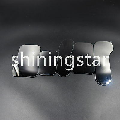 5x Dental Orthodontic Intraoral Photographic 2-sided Rhodium Glass Mirrors