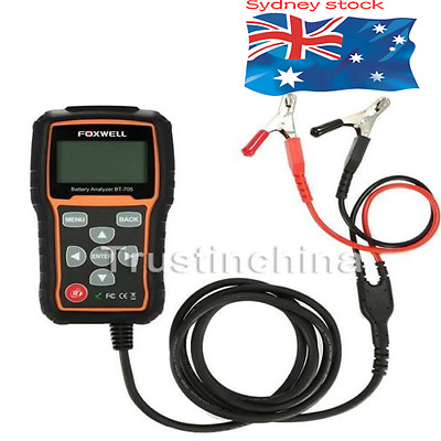 FOXWELL BT705 Car 12V Battery Analyzer Tool Diagnostic Scan Tester Scanner