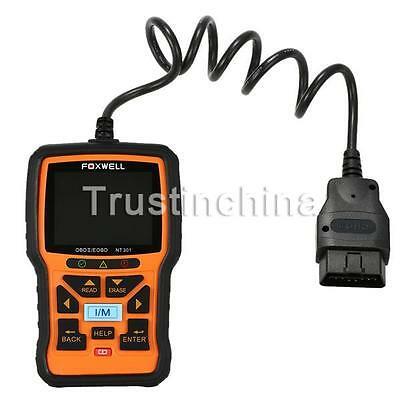 Foxwell NT301 Engine Diagnostic Scan & Reset Code Reader Tool CAN OBD2 EOBD