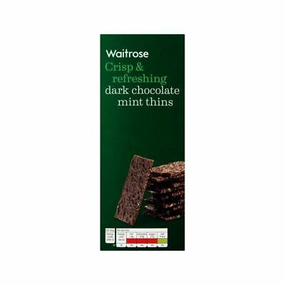 Chocolate Mint Thins Waitrose 200g