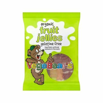 Organic VegeBears Fruit Jellies 100g