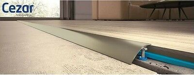 Aluminium Door Bars Threshold Strip Transition Trim  VARIOUS SIZES CHAMPAGNE