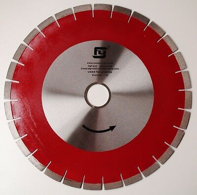 "400Mm 16"" Silent Core Granite/concrete Cutting Diamond Saw Blade"