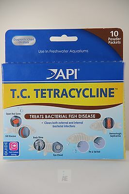 NEW API PRO ® TETRACYCLINE Treats Bacterial Fish Disease, FRESHWATER Aquarium