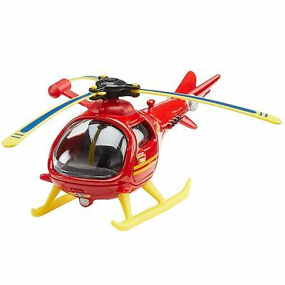 New Fireman Sam Diecast Wallaby 1 Helicopter Toy