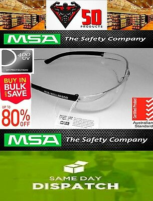 12 X Nullarbor Safety Glasses | Australia's Number 1 safety spectacle | Clear |